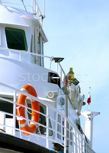 Side of a boat Stock photo © Elenarts