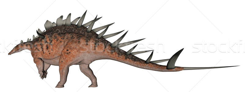 Kentrosaurus dinosaur Stock photo © Elenarts