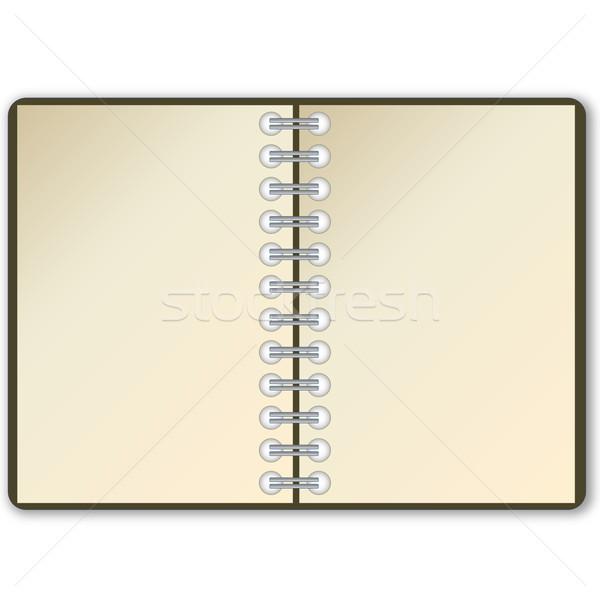 Open notebook Stock photo © Elenarts