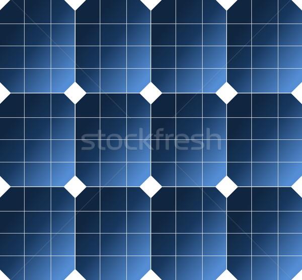 Solar cell pattern Stock photo © Elenarts