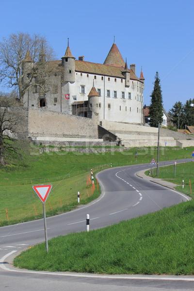 Old castle of Oron, Fribourg canton, Switzerland Stock photo © Elenarts
