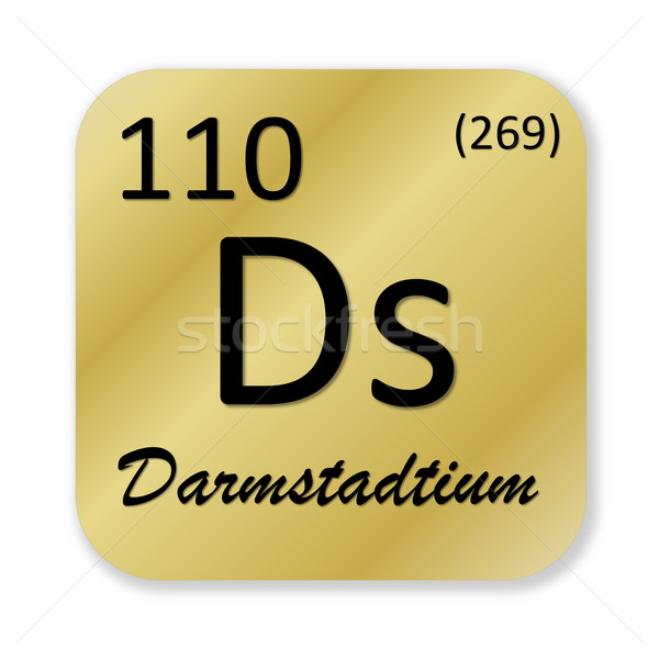 Darmstadtium element Stock photo © Elenarts