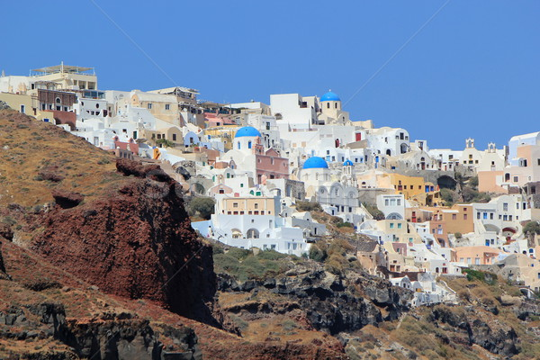 Oia, Santorini, Greece Stock photo © Elenarts