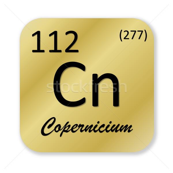 Copernicium element Stock photo © Elenarts