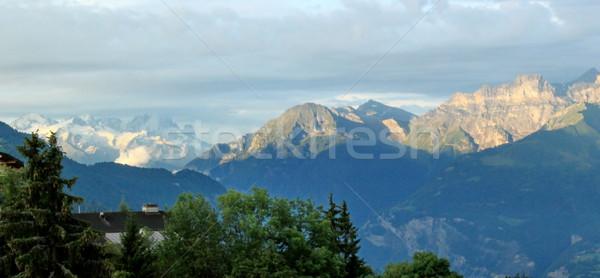 Alps, Vaud, Switzerland Stock photo © Elenarts