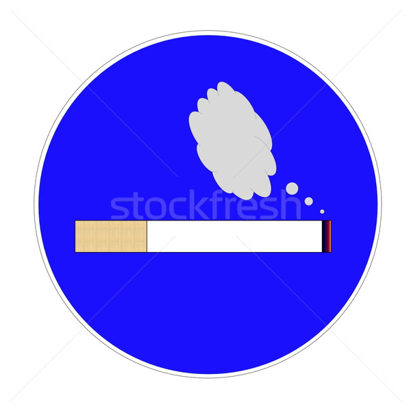 Smoking area Stock photo © Elenarts