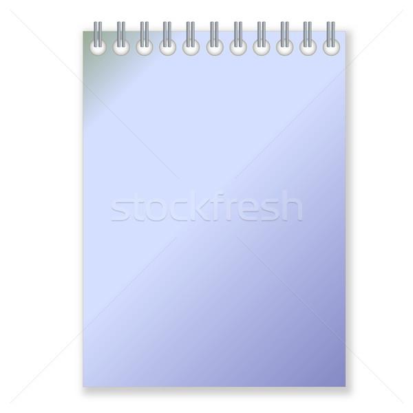 Blue notebook Stock photo © Elenarts