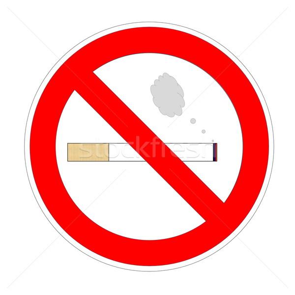 Non smoking area Stock photo © Elenarts