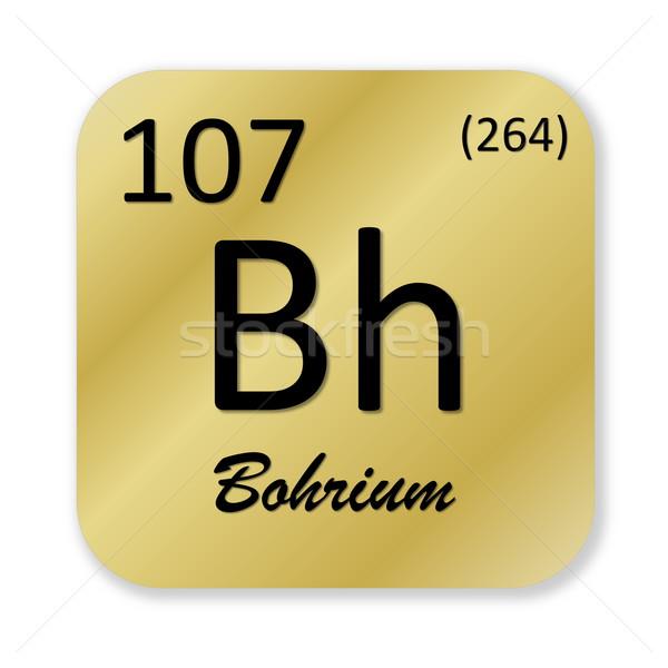 Bohrium element Stock photo © Elenarts