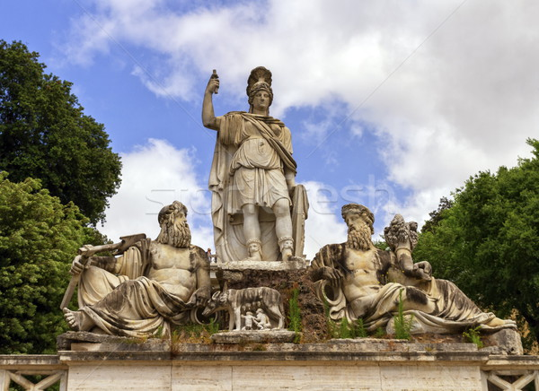Fountain of the Goddess in Roma, Italy Stock photo © Elenarts