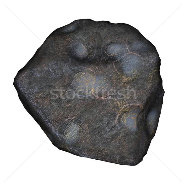Meteor - 3D render Stock photo © Elenarts