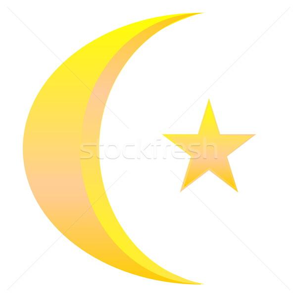 Islamic symbol Stock photo © Elenarts