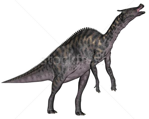 Saurolophus dinosaur - 3D render Stock photo © Elenarts