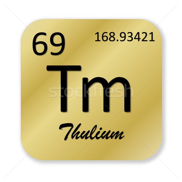 Thulium element Stock photo © Elenarts