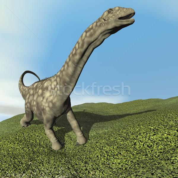 Argentinosaurus dinosaur - 3D render Stock photo © Elenarts