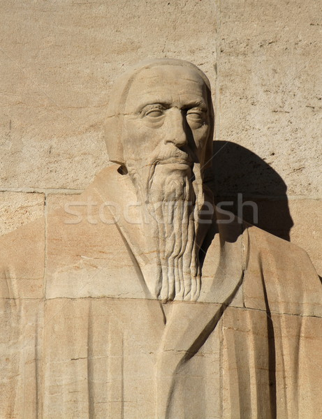 G. Farel, reformation wall, Geneva, Switzerland. Stock photo © Elenarts