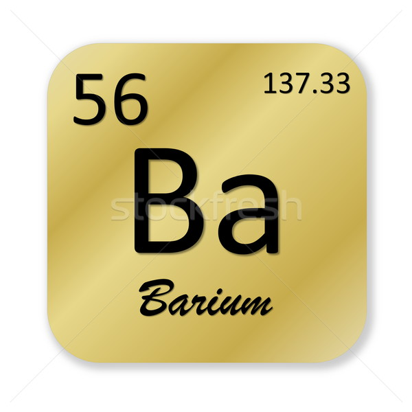 Barium element Stock photo © Elenarts