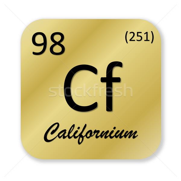 Californium element Stock photo © Elenarts