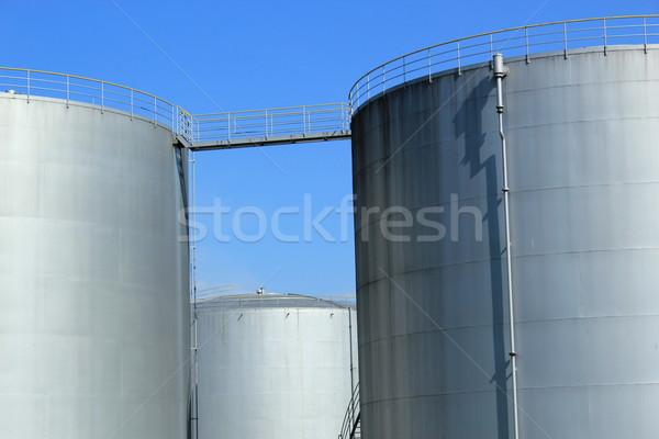 Oil tanks Stock photo © Elenarts
