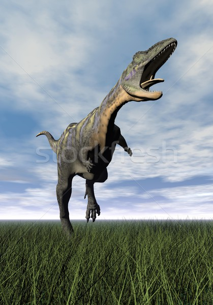 Aucasaurus dinosaur - 3D render Stock photo © Elenarts