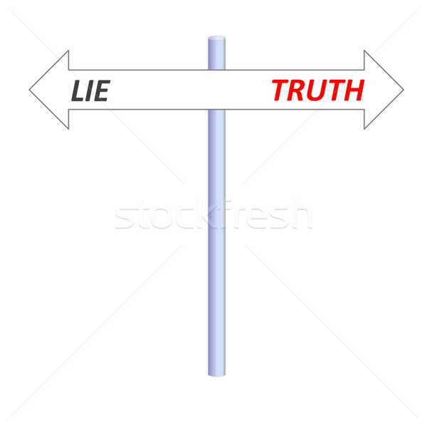 Truth or lie Stock photo © Elenarts