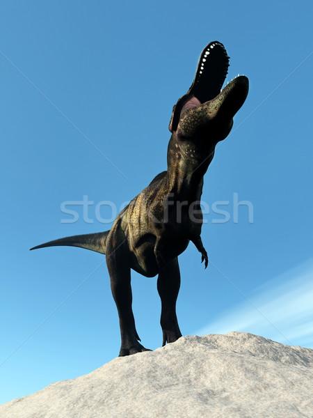 Tyrannosaurus dinosaur - 3D render Stock photo © Elenarts