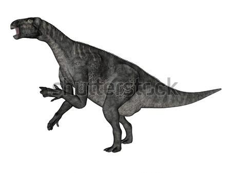 Brachiosaurus dinosaur - 3D render Stock photo © Elenarts
