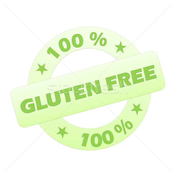 Gluten free stamp Stock photo © Elenarts