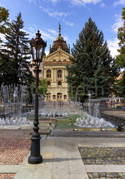 Stock photo: State Theater in the old town, Kosice, Slovakia