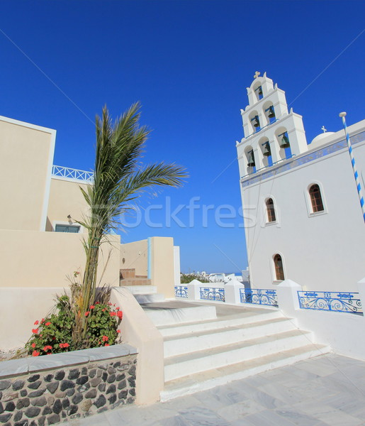Church of Panagia of Platsani, Oia, Santorini Greece Stock photo © Elenarts