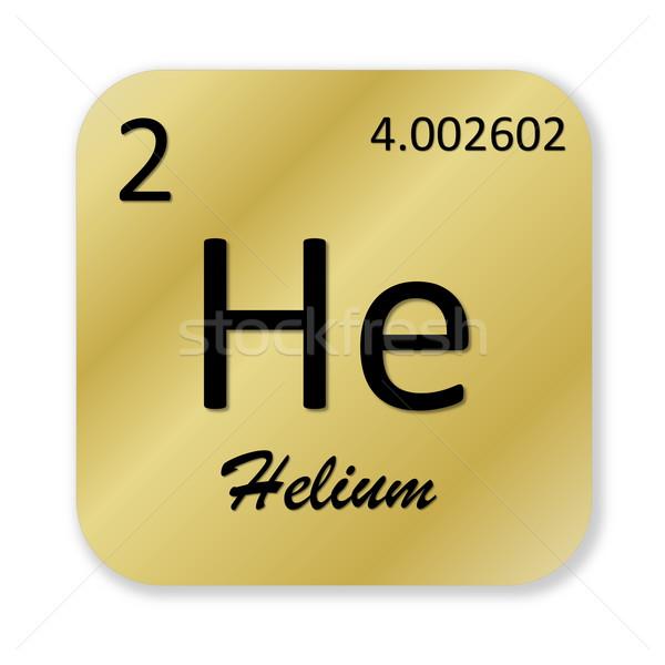 Helium element Stock photo © Elenarts
