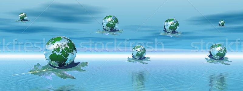 Save earth Stock photo © Elenarts