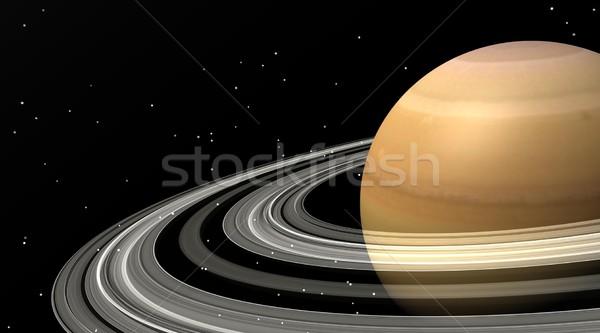 Saturn Stock photo © Elenarts