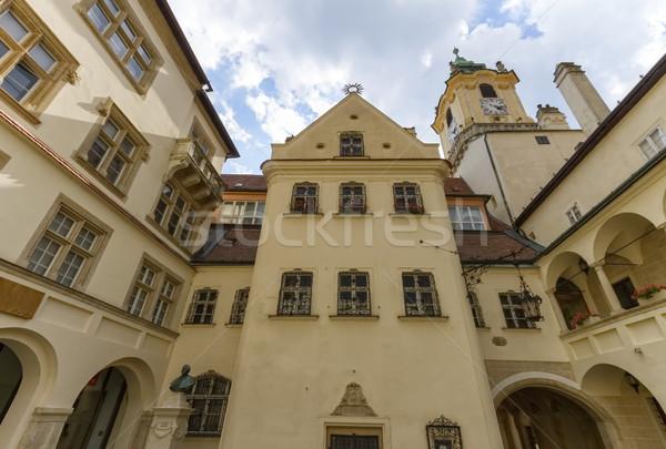 Vieux ville salle Bratislava Slovaquie jour Photo stock © Elenarts