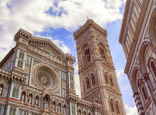 Cathedral Santa Maria del Fiore, Duomo, in Florence, Tuscany, Italy Stock photo © Elenarts