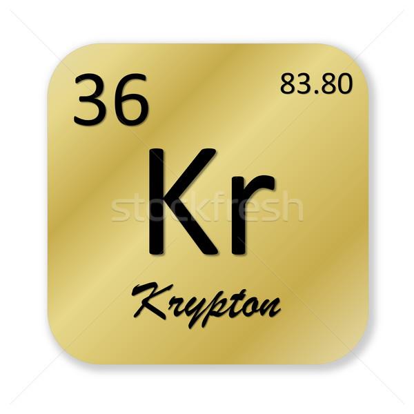 Krypton element Stock photo © Elenarts