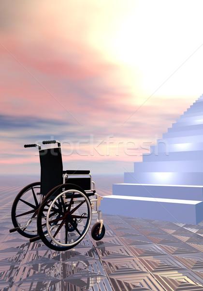 Access forbidden - 3D render Stock photo © Elenarts