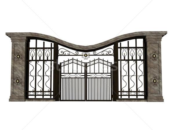 Iron gate Stock photo © Elenarts