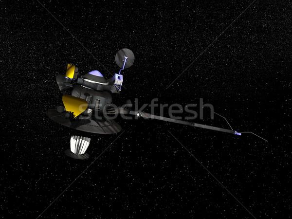 Stock photo: Galileo spacecraft - 3D render