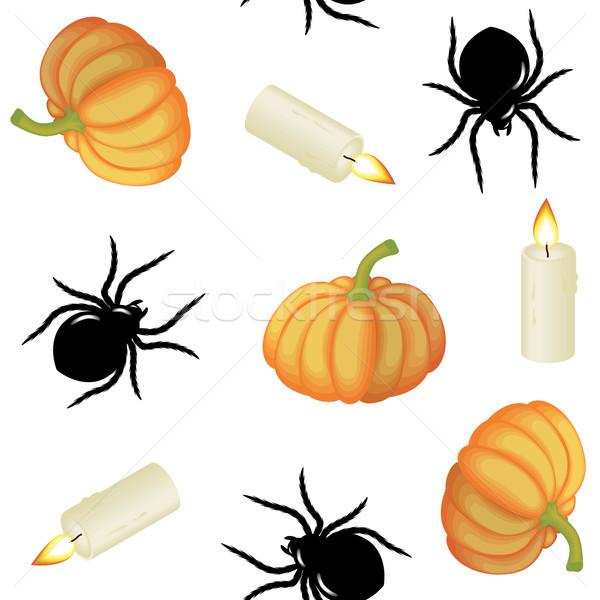 Halloween seamless Stock photo © ElenaShow