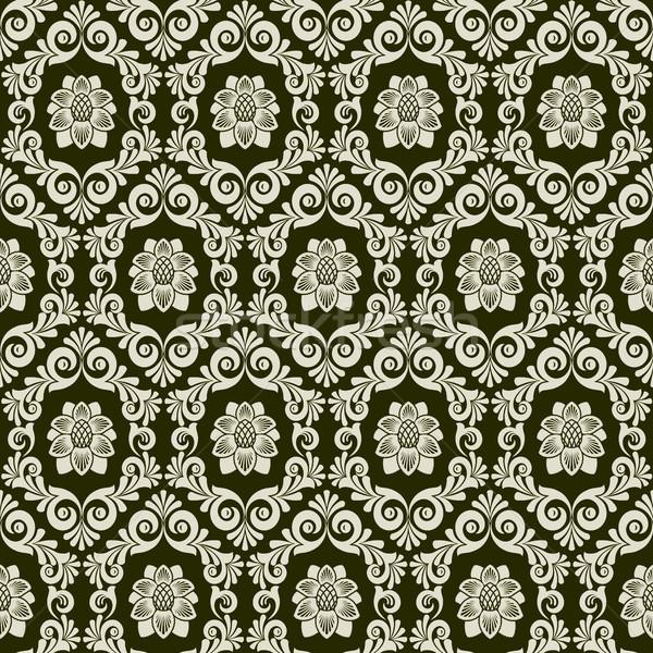 Damask  pattern Stock photo © ElenaShow