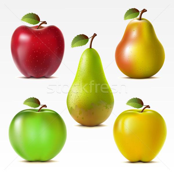 Set of fruits Stock photo © ElenaShow