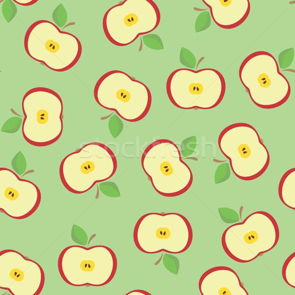 Seamless from apple Stock photo © ElenaShow