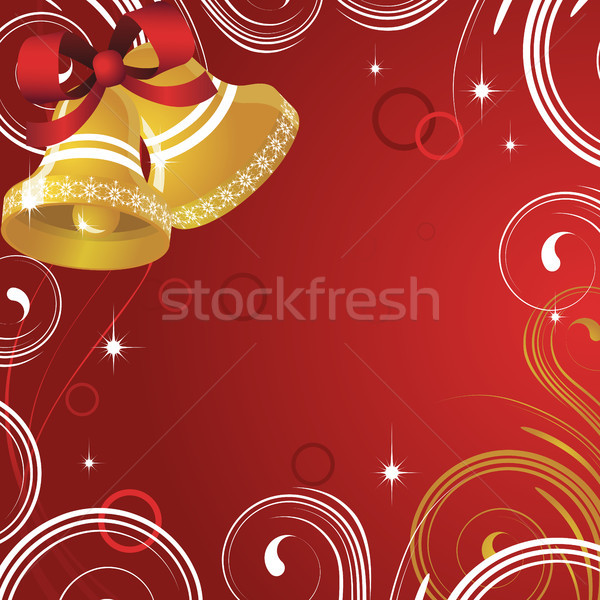 Noel kırmızı soğuk desen soyut arka plan Stok fotoğraf © ElenaShow