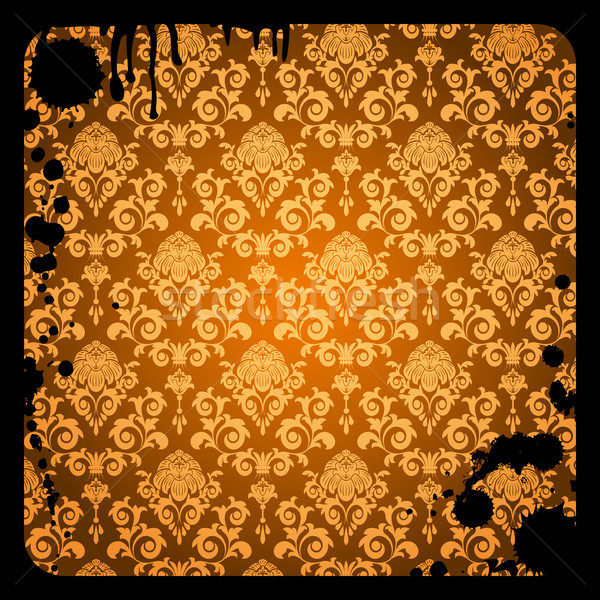 Grunge kahverengi model kirli bilgisayar Stok fotoğraf © ElenaShow