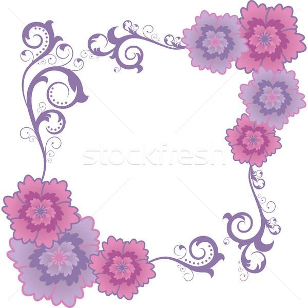 花 白 ピンク 自然 デザイン 葉 ストックフォト © ElenaShow
