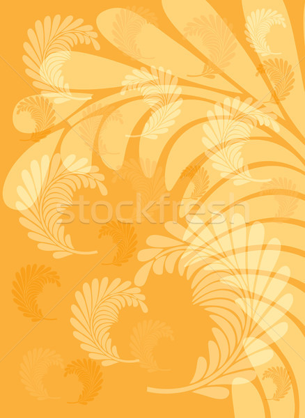紅葉 オレンジ ツリー 秋 バナー 自然 ストックフォト © ElenaShow