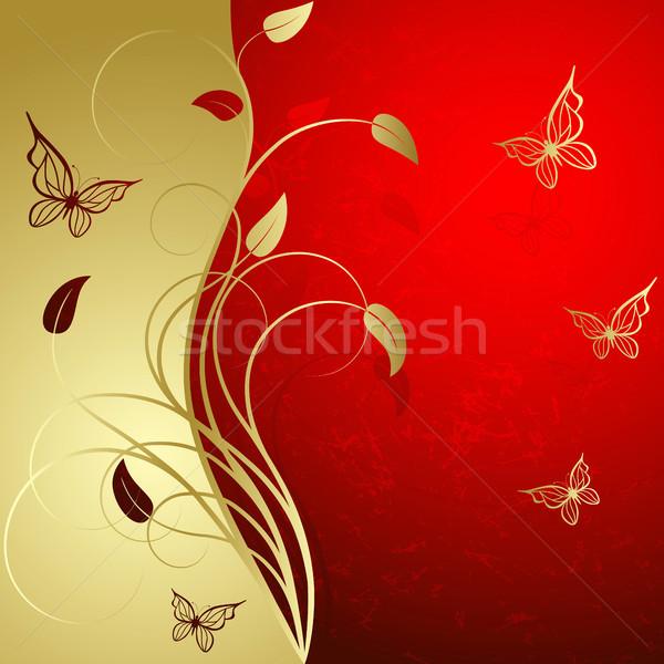 Red background  Stock photo © ElenaShow