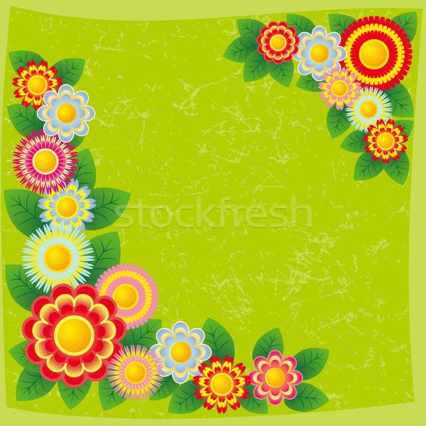 Background with flowers. Stock photo © ElenaShow
