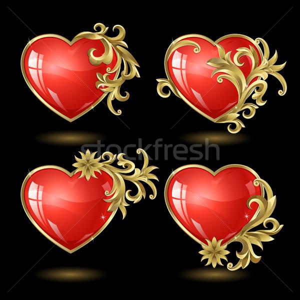 Heart to the St.Valentine Stock photo © ElenaShow